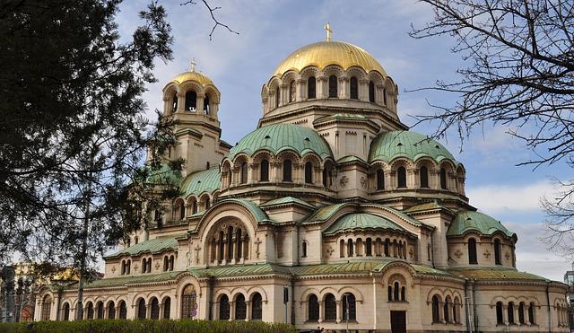 Bulgarie Sofia Cathedral Nevski